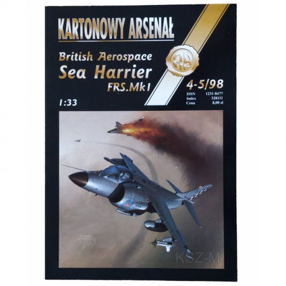 Sea Harrier FRS.Mk 1 - Haliński 4-5/98