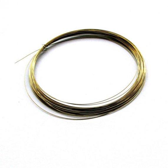 Drut mosiężny modelarski 0,3 mm - 10 m
