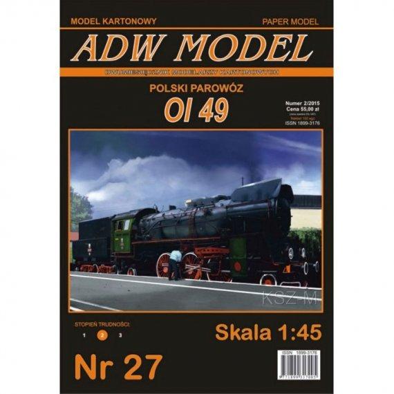 Parowóz Ol 49 - ADW Model 27