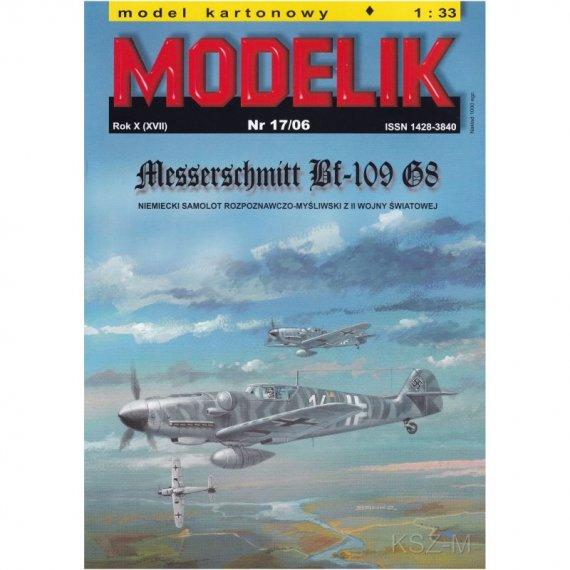 Myśliwiec Messerschmitt Bf-109 - Modelik 17/06