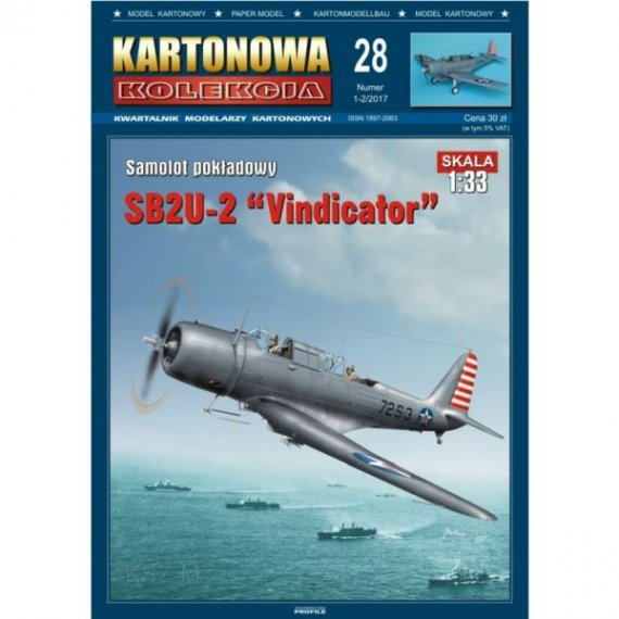 Kartonowa Kolekcja 28 - SB2U-2 Vindicator