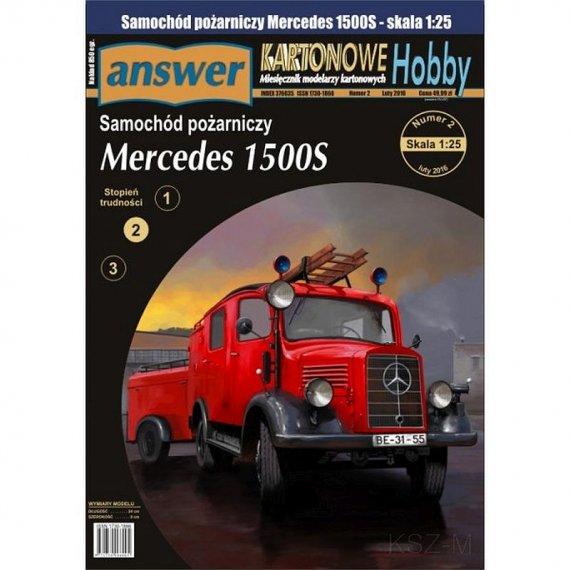 Answer 2/16 - Mercedes L1500S z przyczepką