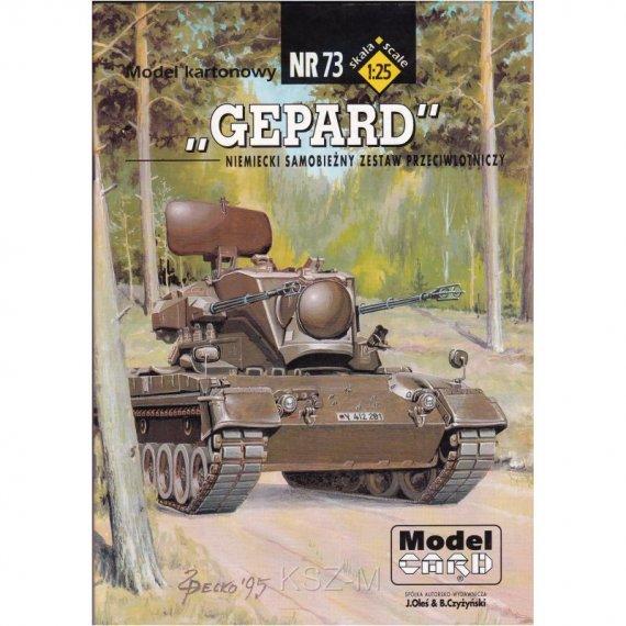 Niemiecki zestaw plot. Gepard - Model Card 73