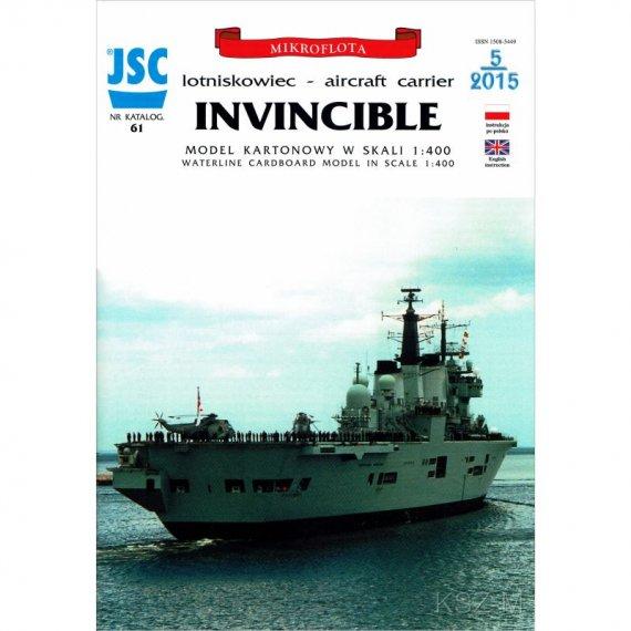 Brytyjski lotniskowiec INVINCIBLE - JSC 61