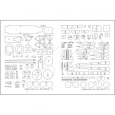 Laser do Kartonowa Kolekcja 28 - SB2U-2 Vindicator