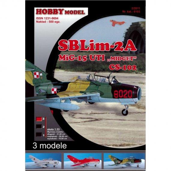 SBLim-2A, MiG-15 UTI, CS-102 - Hobby Model 103