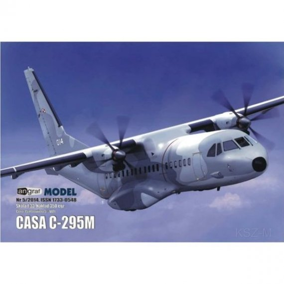 Angraf 5/14 - Samolot Casa C-295M