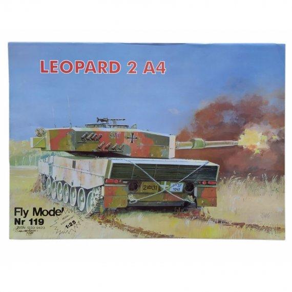 Czołg Leopard 2 A4 - Fly Model 119