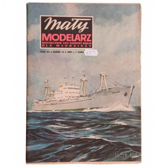 Drobnicowiec M-S J.Domeyko - Mały Modelarz 12/69