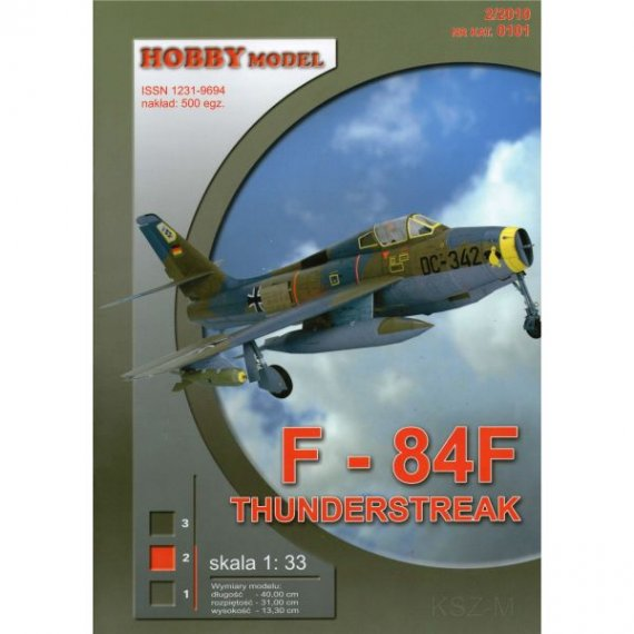 Hobby Model 101 - F-84F Thunderstreak