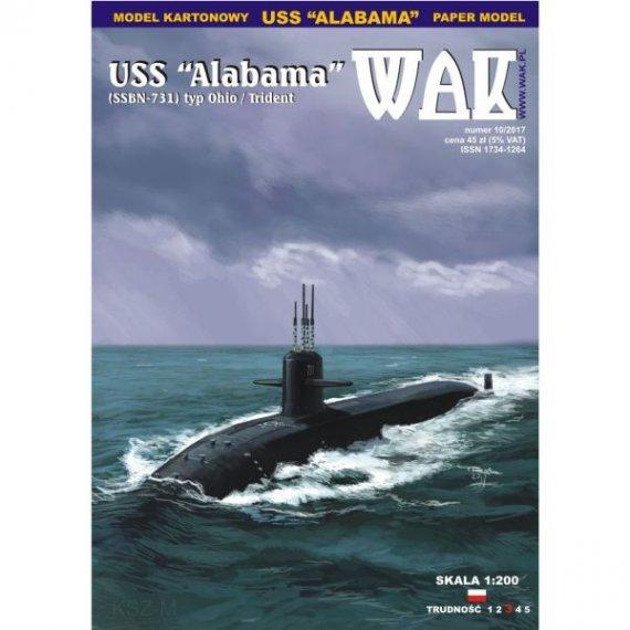WAK 10/17 - USS Alabama SSBN-731