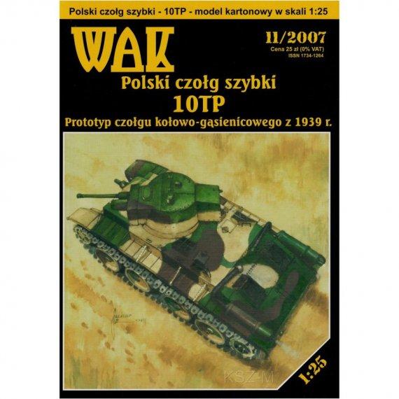 Polski czołg szybki 10TP - WAK 11/07