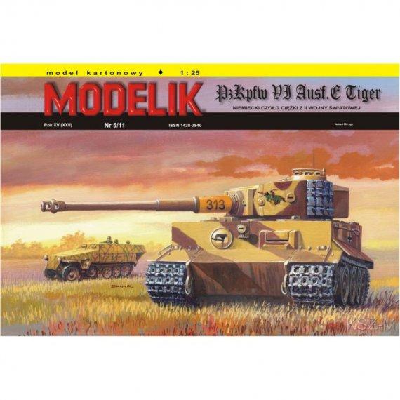 Panzer VI TIGER Ausf.E - Modelik 5/11