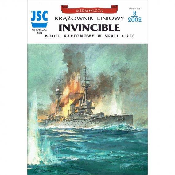 Krążownik liniowy INVINCIBLE - JSC-268