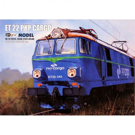 Lokomotywa ET 22 PKP Cargo - Angraf 9/15