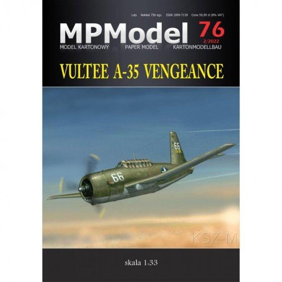 Vultee A-35 Vengeance - MPModel 76