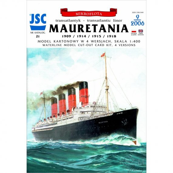Transatlantyk MAURETANIA - JSC-021