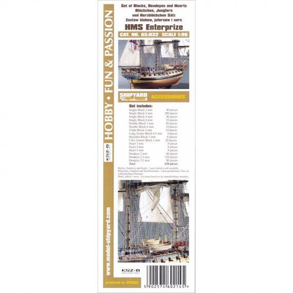 Komplet bloków do HMS Enterprize - Shipyard 69