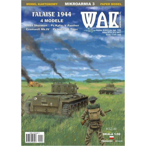 Falaise 1944: Sherman, Cromwell, Tiger - WAK 8/21