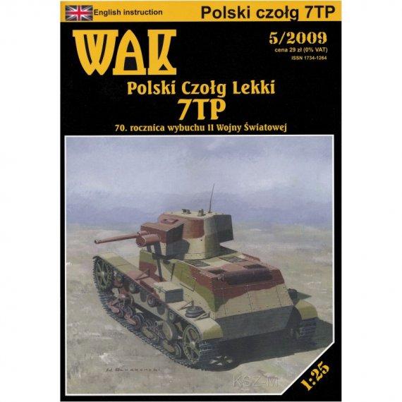 Polski czołg lekki 7TP - WAK 5/09