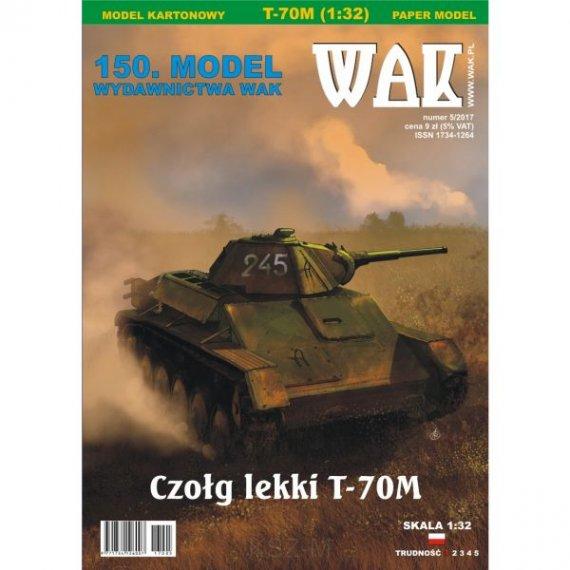 WAK 5/17 - Czołg T-70M