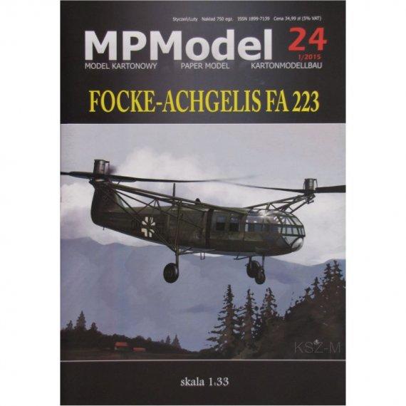 Focke-Achgelis Fa-223 - MPModel 24