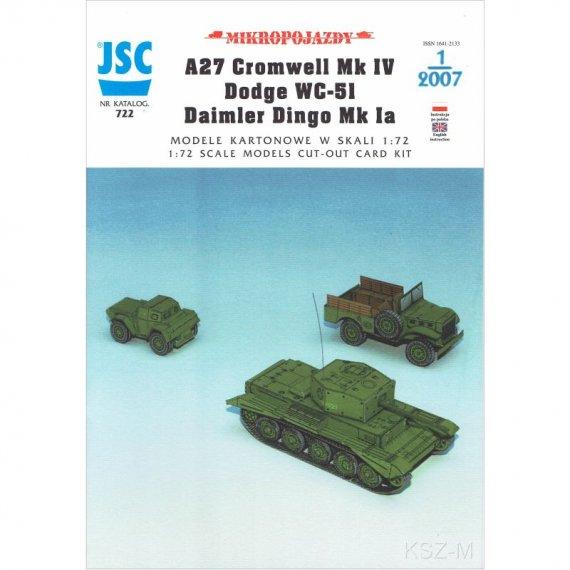 Cromwell, Dingo, Dodge WC-51 - JSC-722