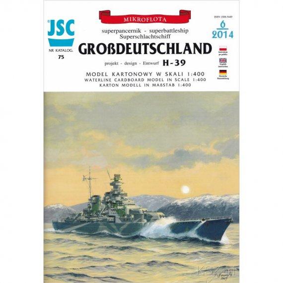 Superpancernik GROSSDEUTSCHLAND - JSC-075