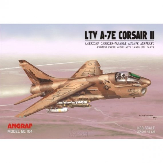 Angraf 104 - LTV A-7E Corsair II