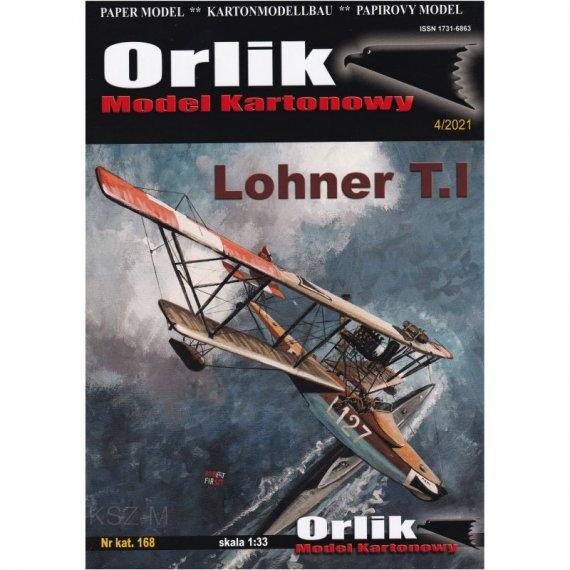 Łódź latająca Lohner T.I - Orlik 168