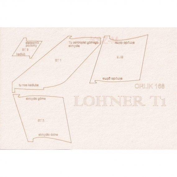 Szkielet do łodzi latającej Lohner T.I - Orlik 168