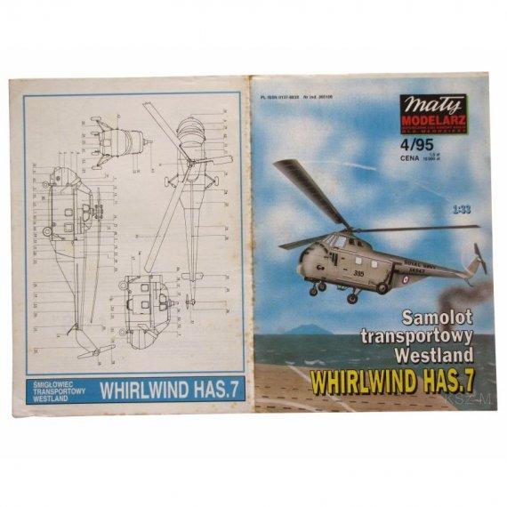 Weastalnd Whirlwind HAS.7 - Mały Modelarz 4/95