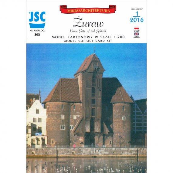 Żuraw w Gdańsku - JSC-203