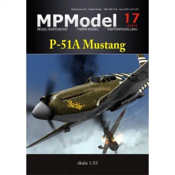 MPModel 17 -P-51A Mustang