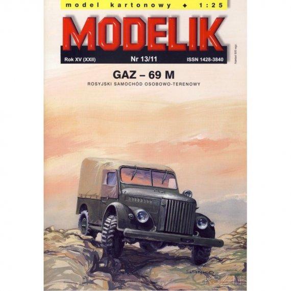 Samochód GAZ-69M - Modelik 13/11