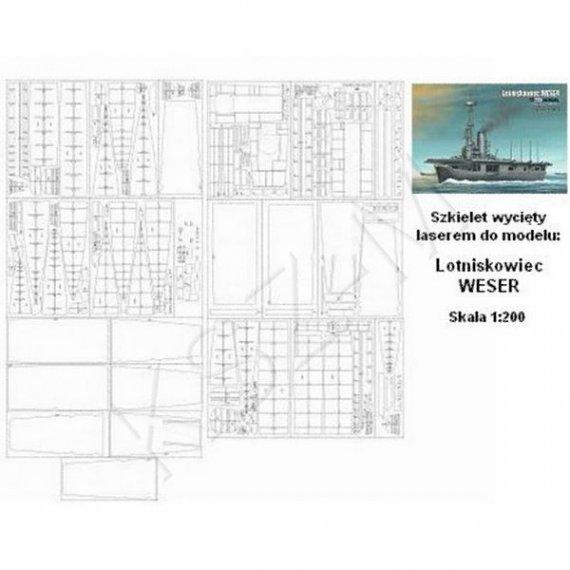 Laser do Angraf 3/17 - Lotniskowiec WESER