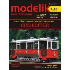 Modelik 8/17 - Tramwaj RINGHOFFER 1911