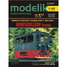 Modelik 9/17 - HOHENZOLLERN Tramlok