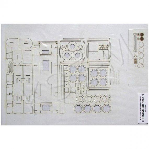 Laser do Modelik 9/17 - HOHENZOLLERN Tramlok