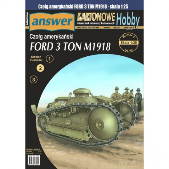 Answer 7/17 - Czołg Ford 3 TON M1918