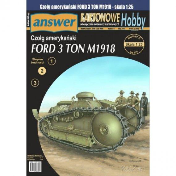 Answer 7/17 - Czołg Ford 3 TON M1918
