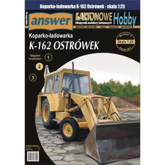 Answer 4/17 - Koparka K-162 Ostrówek