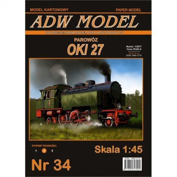 ADW Model 34 - Parowóz OKl 27