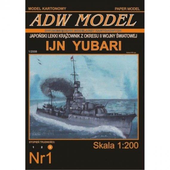 ADW Model 1 - Krążownik IJN Yubari