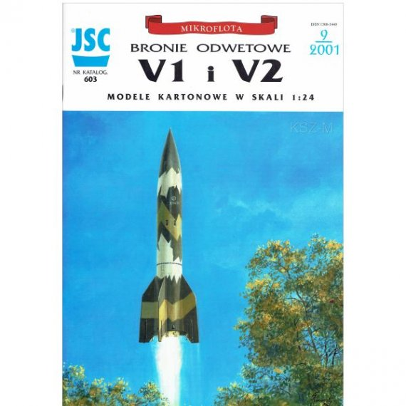 JSC-603 Bomba latajaca V1, rakieta V2