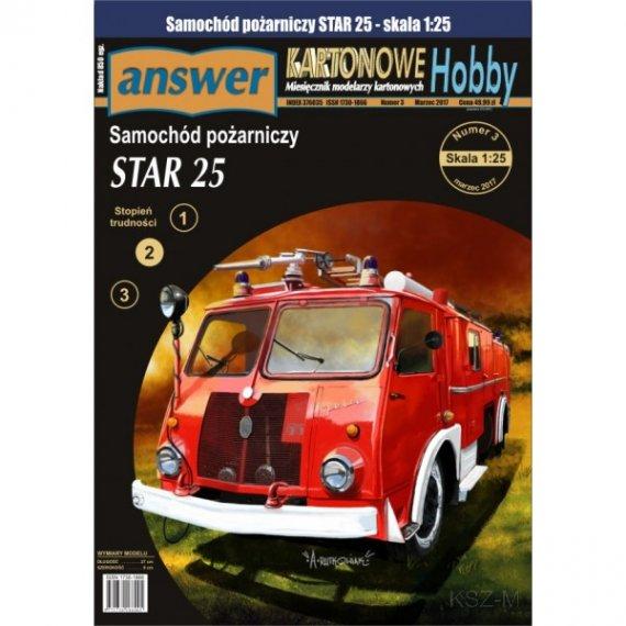 Answer 3/17 - Samochód pożarniczy STAR 25
