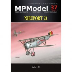 MPModel 37 - Samolot Nieuport 23