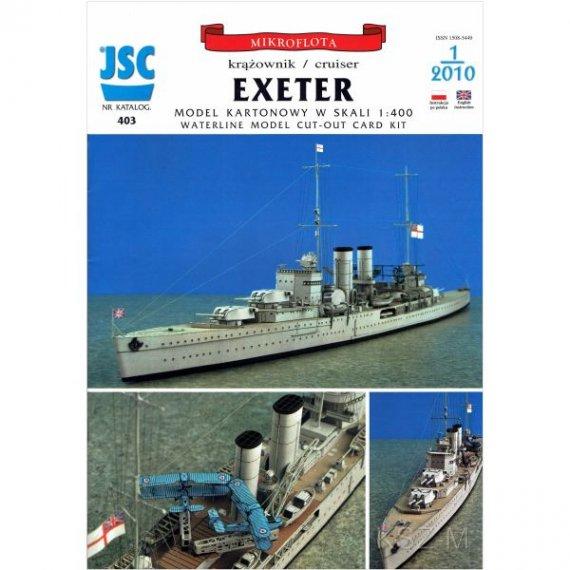 JSC-403 - Krążownik EXETER