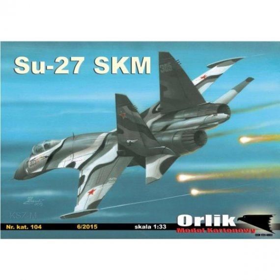 Orlik 104 Samolot SU-27 SKM