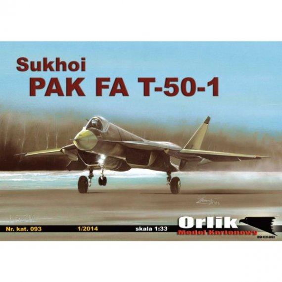 Orlik 093 - Samolot Sukhoi PAK FA T-50-1